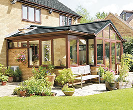 Beautiful Solid Roof Conservatory