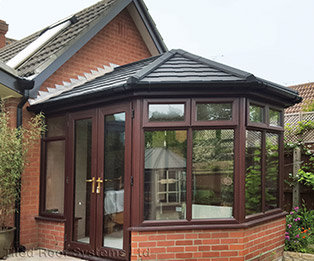 3 Bay Victorian Solid Tiled Conservatory Roof