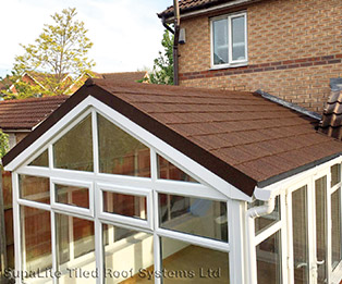 Gable End Solid Tiled Conservatory Roof