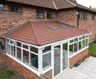 Hipped Lean to Solid Tiled Conservatory Roof