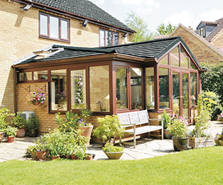 Supalite Solid Tiled Conservatory Roof