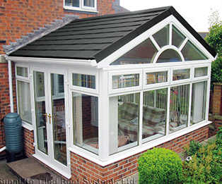 Supalite Solid Tiled Gable End Conservatory Roof