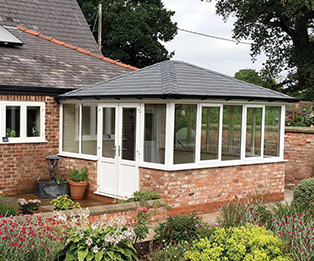 Supalite Solid Tiled Hipped Edwardian Conservatory Roof