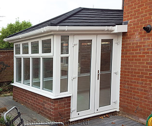 Supalite Solid Tiled Conservatory Roof Conversion