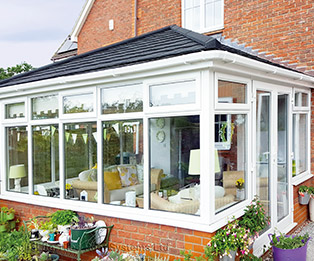 Edwardian Solid Tiled Conservatory Roof Replacement