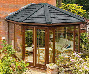 Victorian Solid Tiled Conservatory Roof Conversion