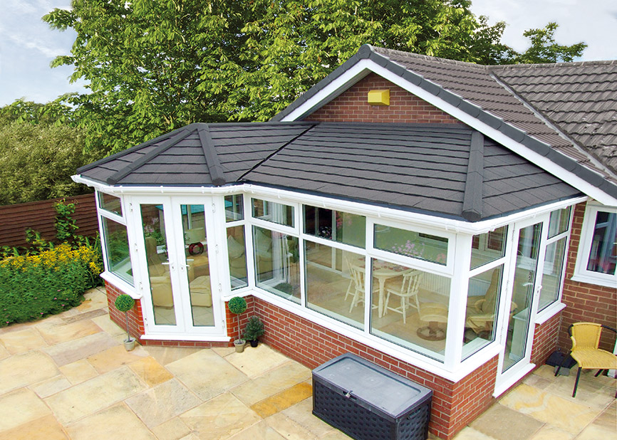 Tiled Solid Conservatory Roof Replacement
